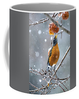 Coffee Mug featuring the photograph A Worm Would Taste Better by Marty Saccone