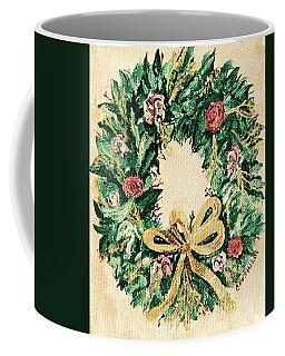 A Wreath  Coffee Mug