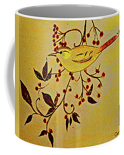 A Wren - In Pastel  Coffee Mug