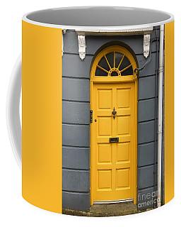 A Yellow Door In Ireland Coffee Mug