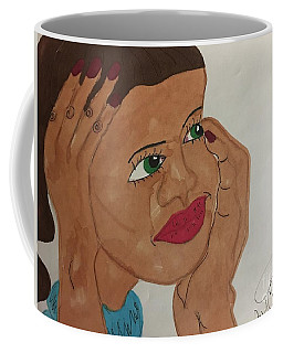 A Young Woman  Coffee Mug