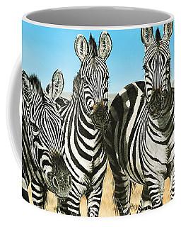 A Zeal Of Zebras Coffee Mug