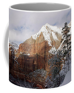 A Zion View Along The Trail Coffee Mug