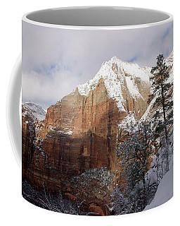 A Zion View Along The Trail Coffee Mug