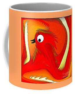 A Zizzer Bird Coffee Mug