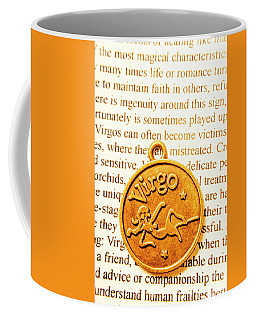 A Zodiac Theme In Virgo Coffee Mug