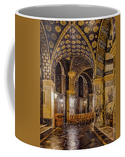Coffee Mug featuring the photograph Aachen, Germany - Cathedral Ambulatory by Mark Forte