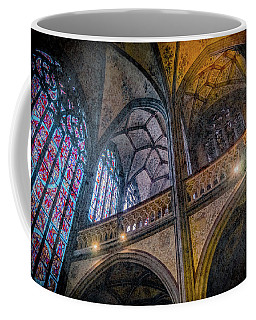 Coffee Mug featuring the photograph Aachen, Germany - Cathedral - Nikolaus-michaels Chapel by Mark Forte
