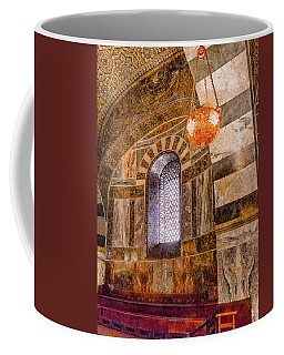 Coffee Mug featuring the photograph Aachen, Germany - Cathedral - Upper Gallery by Mark Forte
