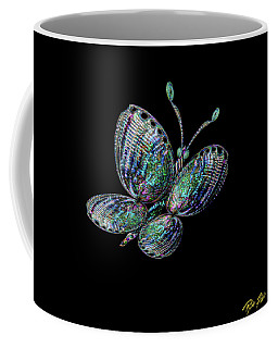 Coffee Mug featuring the photograph Abalonefly by Rikk Flohr