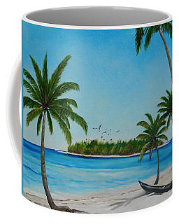Abandon Boat In Paradise Coffee Mug