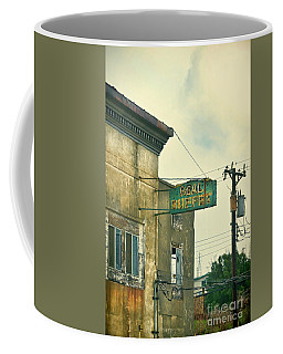Coffee Mug featuring the photograph Abandoned Building by Jill Battaglia
