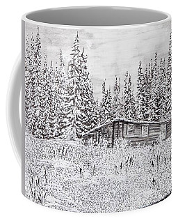 Abandoned Cabin Coffee Mug