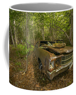 Abandoned Chevelle In Cape Breton Coffee Mug by Ken Morris
