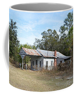 Abandoned Chevron Gas Station Coffee Mug