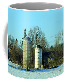 Abandoned Farm Coffee Mug by Betty-Anne McDonald