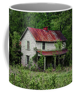 Abandoned Farm House Coffee Mug by Paul Mashburn