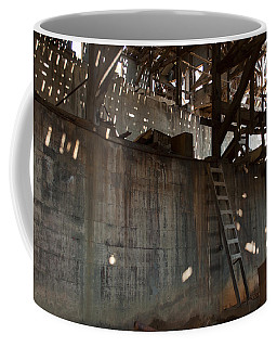 Coffee Mug featuring the photograph Abandoned by Fran Riley