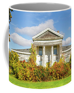 Abandoned Greek Revival Coffee Mug