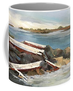 Abandoned Coffee Mug by Helen Harris