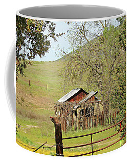 Coffee Mug featuring the photograph Abandoned Homestead by Art Block Collections