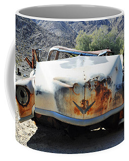 Coffee Mug featuring the photograph Abandoned Mojave Auto by Kyle Hanson