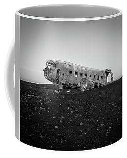 Abandoned Plane On Beach Coffee Mug