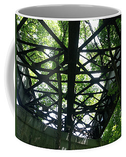 Abandoned Railroad Bridge Coffee Mug