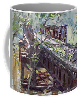 Abandoned Railroad Bridge In Tonawanda Coffee Mug