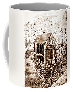 Coffee Mug featuring the photograph Abandoned Silver Mine by Marilyn Hunt