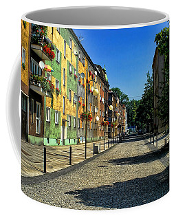 Coffee Mug featuring the photograph Abandoned Street by Mariola Bitner