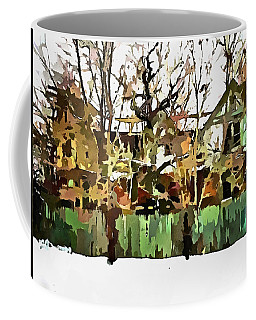 Abandoned Structure In Paint Coffee Mug