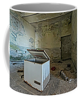Abandoned Summer Camp Building - Colonia Abbandonata 1 Coffee Mug