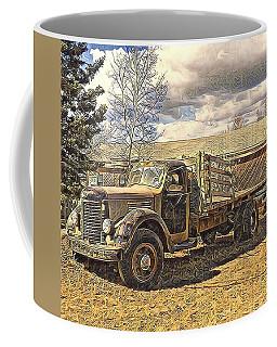 Abandoned Vehicle Canol Project 1945 Coffee Mug