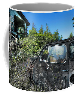 Coffee Mug featuring the photograph Abandoned Vehicles - Veicoli Abbandonati  2 by Enrico Pelos