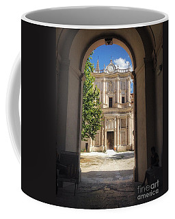 Abbey Of The Holy Spirit At Morrone In Sulmona, Italy Coffee Mug