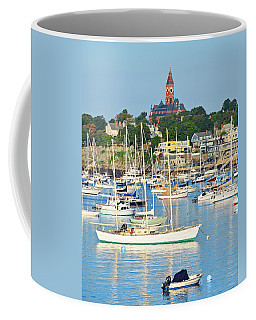 Abbot Hall Over Marblehead Harbor From Chandler Hovey Park Coffee Mug