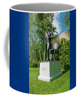 Coffee Mug featuring the photograph Abe Hanging Out by Greg Fortier