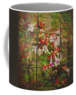 Abelia Coming Through Coffee Mug