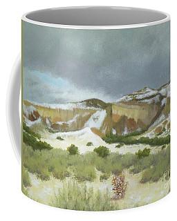 Abiquiu In Winter Coffee Mug