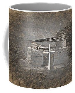 Abiquiu Nm Church Ruin Coffee Mug
