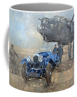 Able Mable And The Blue Lagonda  Coffee Mug