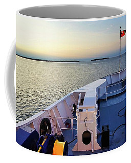 Aboard The Chi-cheemaun Coffee Mug