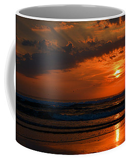 Above And Below Coffee Mug by Dianne Cowen