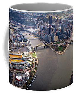Above Pittsburgh In  Color  Coffee Mug