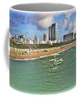Above South Beach  Coffee Mug