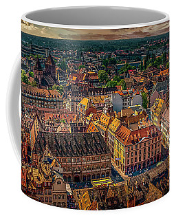Above Strasbourg Coffee Mug