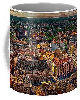 Above Strasbourg Coffee Mug