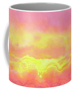 Above The Clouds - Abstract Art Coffee Mug
