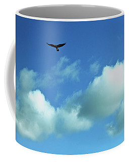 Above The Clouds Coffee Mug by Eric Tressler